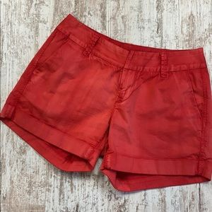 Dear John red Hampton Comfort cuffed shorts